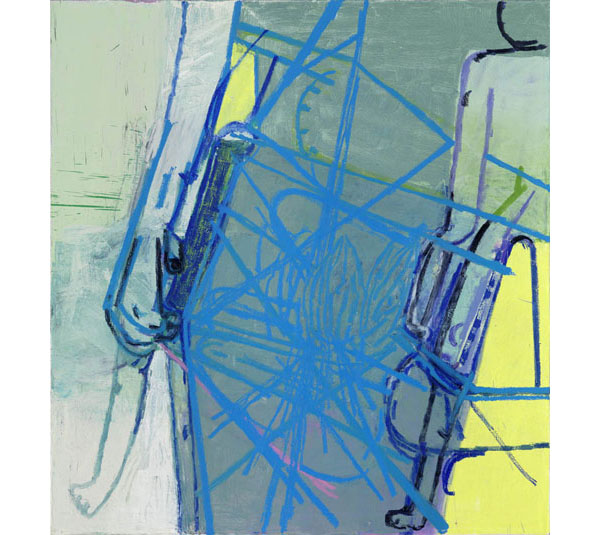 Amy Sillman painting