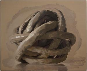 Damien Meade painting