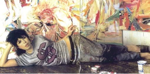 Cecily Brown portrait artist