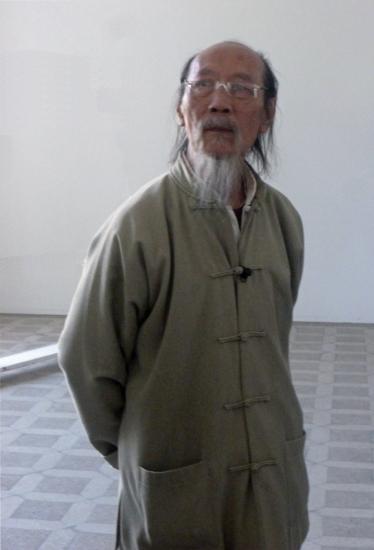 邱世华 Qiu Shihua 1940 artist visiting Berlin