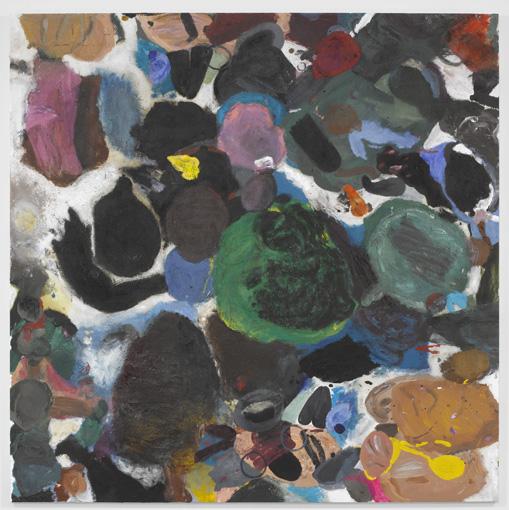 Jim Dine painting