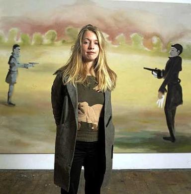 sophie Von Hellerman artist portrait