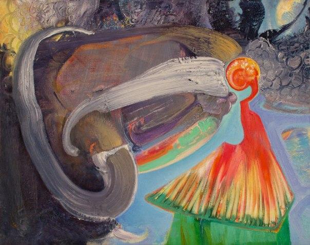 Brian Wood Painting 2011 PTK