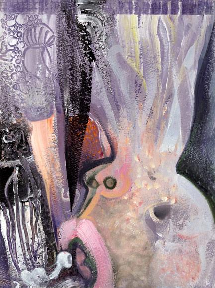 Brian Wood Painting 2012 Mercury