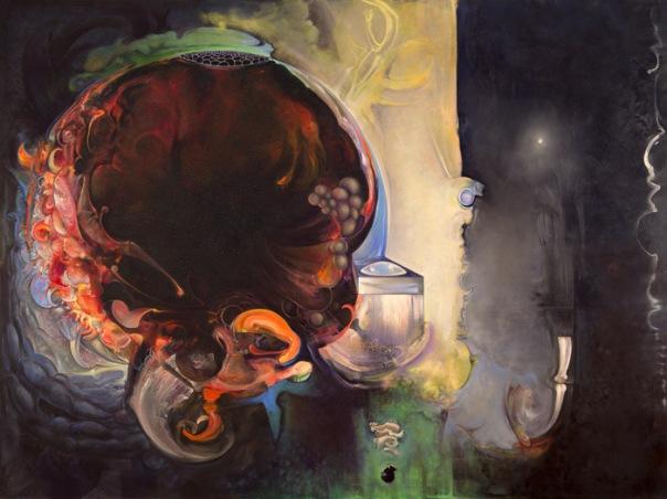 Brian Wood Painting 2013 Boson