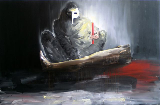 Stéphane Pencréac'h painting