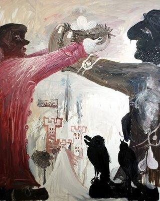 Bendix Harms painting