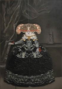 Michelle McKeown painting