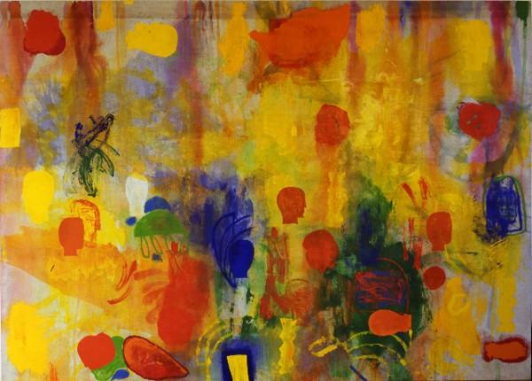 Mimmo Paladino painting
