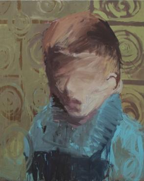 Brigitte Groth painting