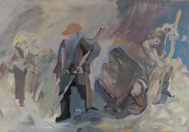 Farzan Sadjadi painting