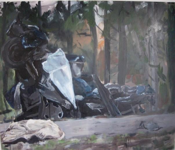 Jo Wilmot painting
