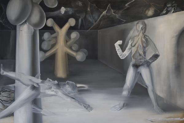 Kanta Matsuo painting