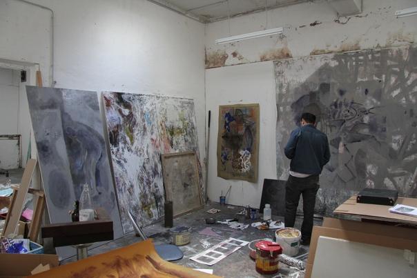 Behrang-Karimi painter