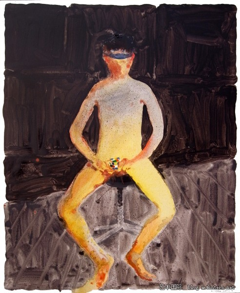Ge Hui painting