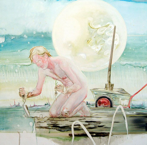 Tim McMonagle painting
