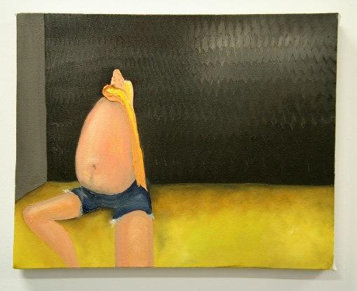 Amber Boardman painting