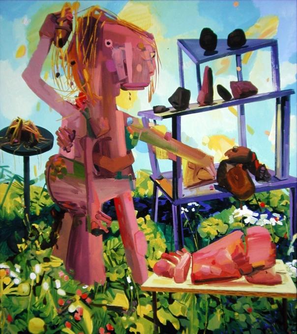 Dana Schultz painting