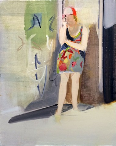 Carly Silverman oil on canvas