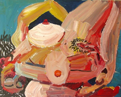 Peter Fagundo painting