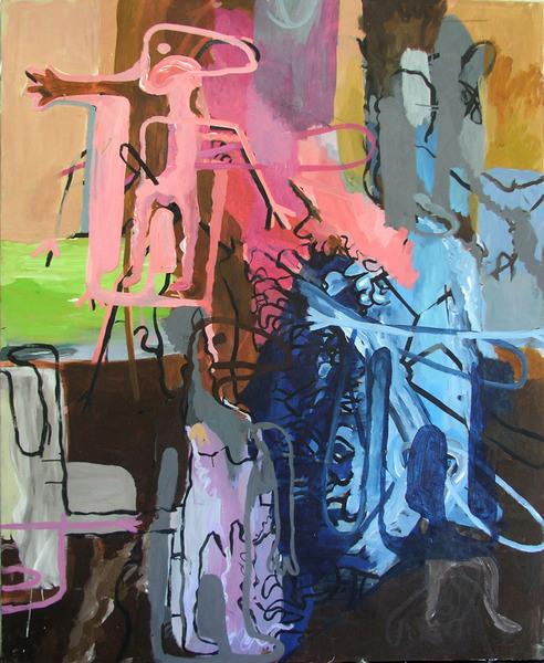 Tadeusz Bartos painting