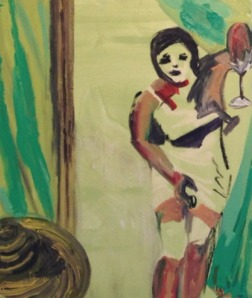 Claudia Baez painting