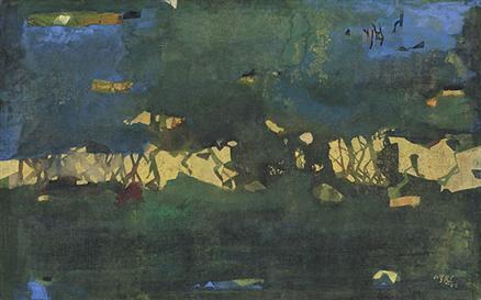 Ganesh Haloi painting