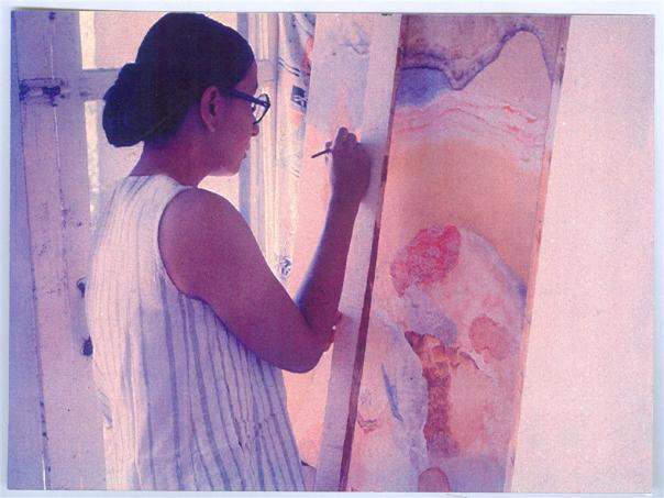 Nilima Sheikh artist