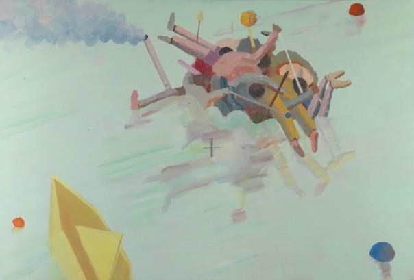 Alon Kedem painting