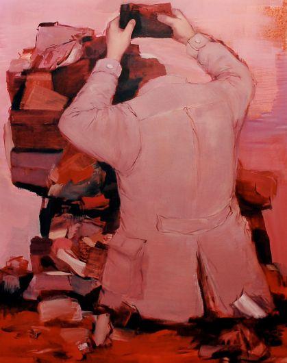 Mohamad-Said Baalbaki painting