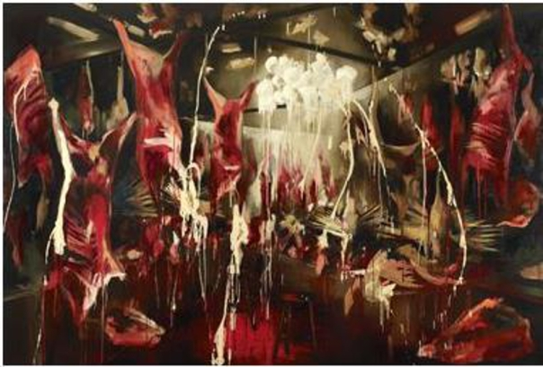Rosson Crow painting