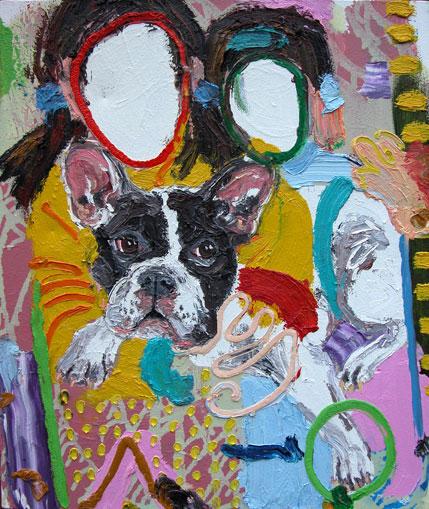 Michael Bredtved painting