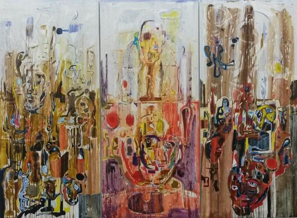 Harold klunder Kunst Malerei peinture