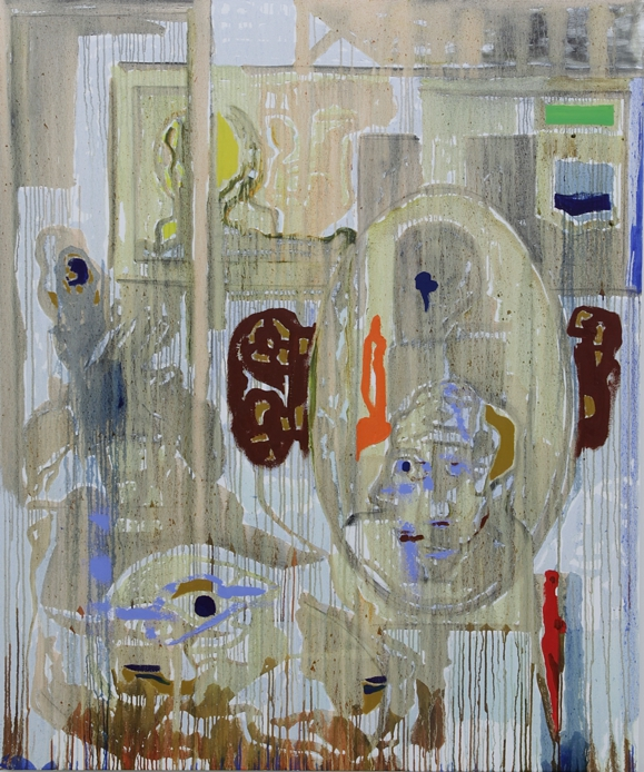 Harold Klunder painting