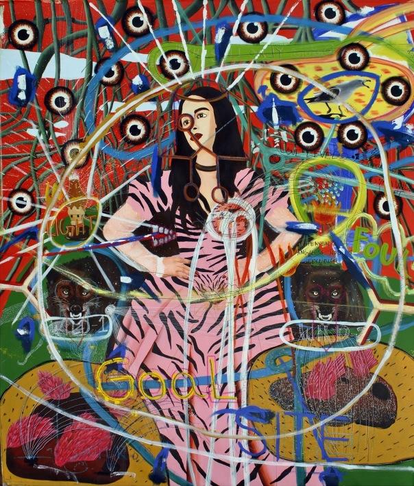 Azghar Ali Shaik contemporary painting India