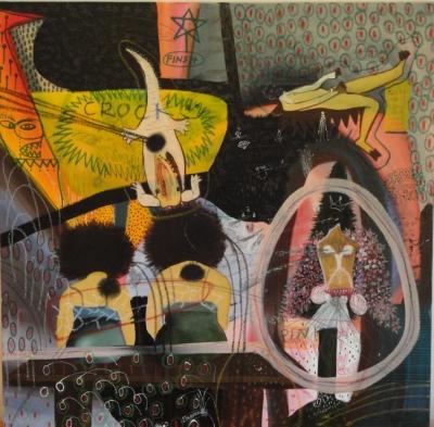 Azghar Ali Shaik Zeitgenossische Malerei India