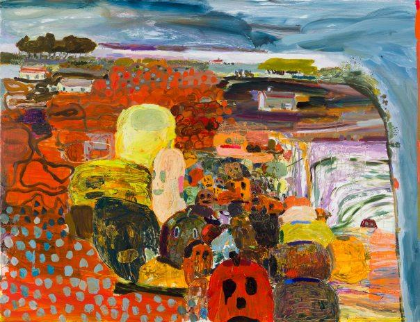 Lisa Sanditz contemporary painting 2013