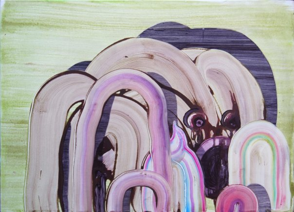 Sander van Deurzen Dutch contemporary painting 2009