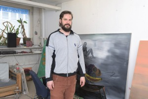 Kalle Leino Finnish contemporary artist painter