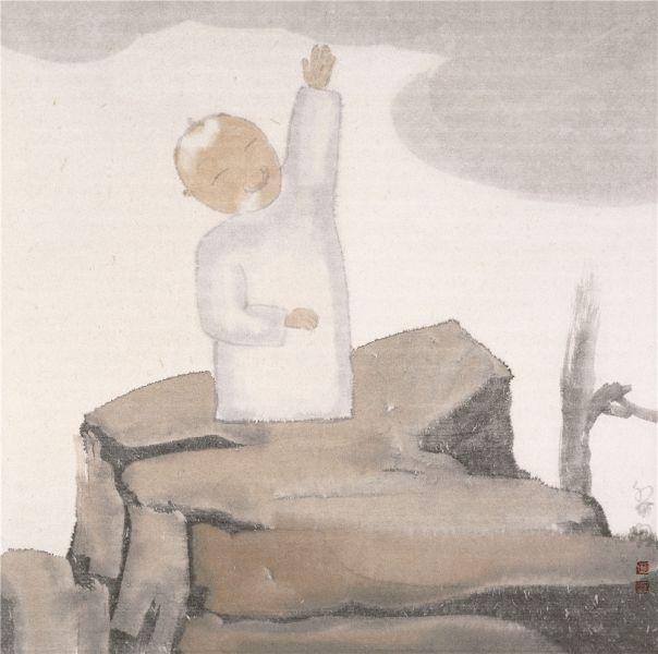 Tian Limang painting