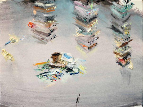 Jeroen Vrijsen contemporary painting Netherlands