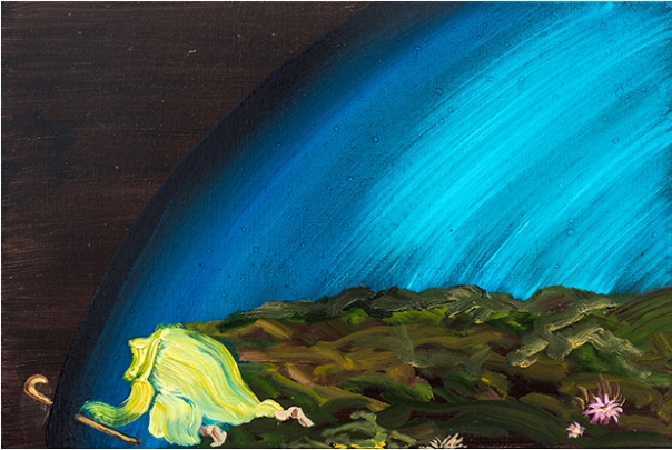 Susan Lizotte painting