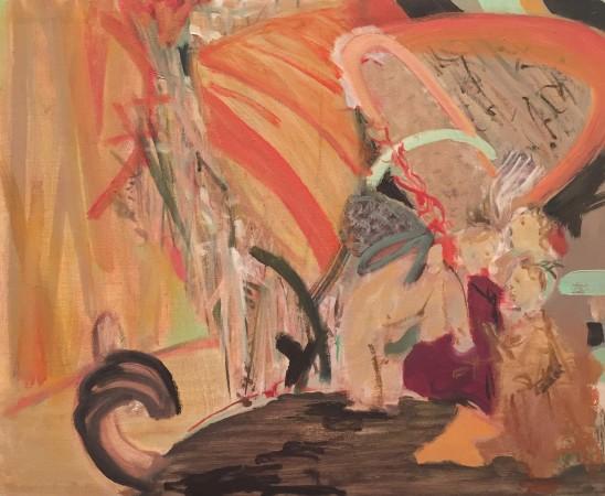 Diane Green painting